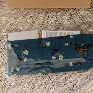Coach Other - NWT Coach Rexy Face Mask With Floral Print in Blue